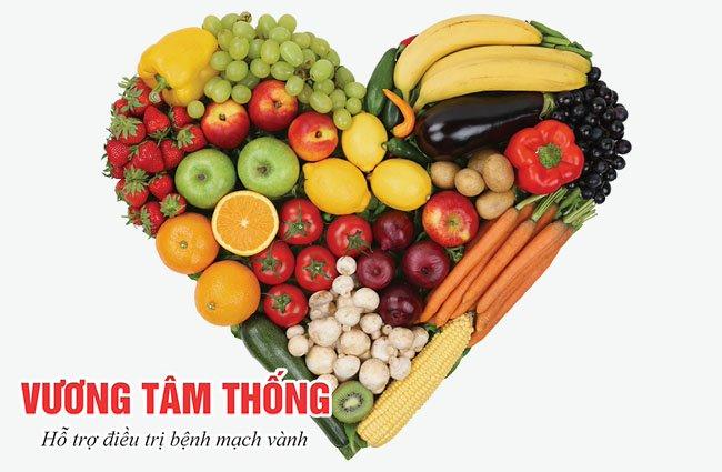 Chế độ ăn nhiểu rau và trái cây giúp ngăn chặn bệnh mạch vành tiến triển